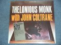 THELONIOUS MONK With JOHN COLTRANE /1982 US Reissue Sealed LP