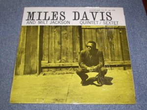 画像1: MILES DAVIS & MILT JACKSON  - QUINTET/SEXTET  /  GERMANY  Reissue Brand New Sealed LP