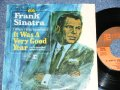 "FRANK SINATRA - IT WAS A VERY GOOD YEAR / 1965 US ORIGINAL 45rpm  7""Single With PICTURE SLEEVE"