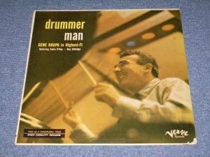 画像1: GENE KRUPA in HLGHEST-FI - DRUMMER MAN / 1957 US ORIGINAL MONO Orange Label LP