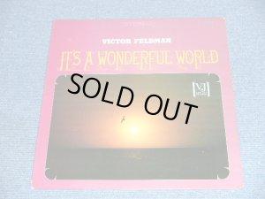 画像1: VICTOR FELDMAN -  IT'S A WONDERFUL WORLD / 1965 US ORIGINAL Stereo LP